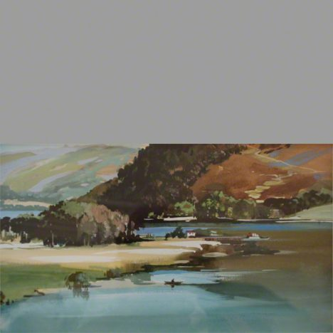 Print of Head of Ullswater Lake District