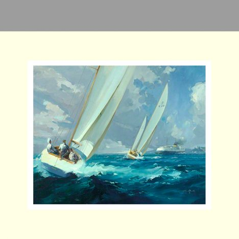 Racing off Ryde Isle of White