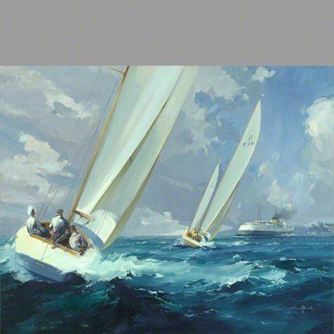 Racing off Ryde, Isle of White