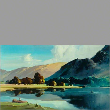 The English Lakes, head of Ullswater