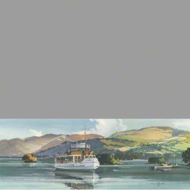 Print MV Swan Windermere