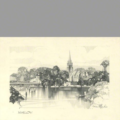 Pencil drawing of Marlow by Claude Buckle category