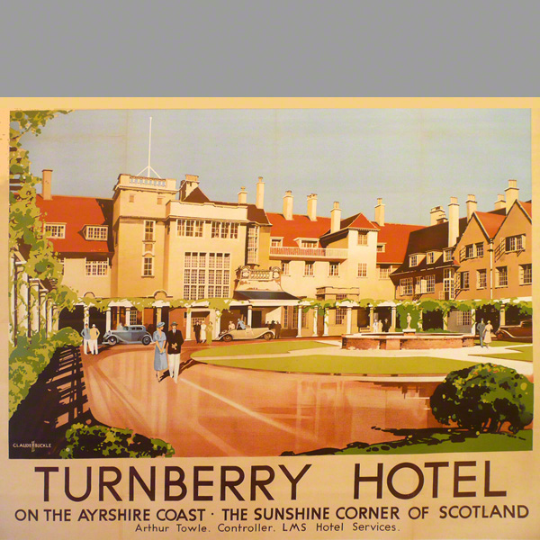 Turnberry Hotel on the Ayrshire coast