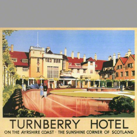 catalog print image of Turnberry Hotel